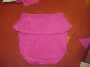 Basic, two-tiered Anna cape.
